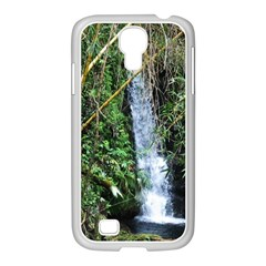 Bamboo Waterfall Samsung Galaxy S4 I9500/ I9505 Case (white) by bloomingvinedesign