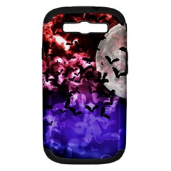 Bokeh Bats In Moonlight Samsung Galaxy S Iii Hardshell Case (pc+silicone)