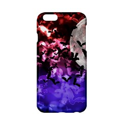 Bokeh Bats In Moonlight Apple Iphone 6 Hardshell Case by bloomingvinedesign