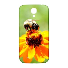 Bee On A Flower Samsung Galaxy S4 I9500/i9505  Hardshell Back Case by bloomingvinedesign