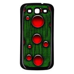 Geek Binary Digital Christmas Samsung Galaxy S3 Back Case (black)