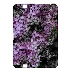 Lilacs Fade To Black And White Kindle Fire Hd 8 9  Hardshell Case by bloomingvinedesign