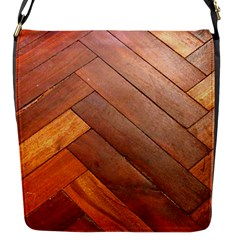 Wood11 Flap Closure Messenger Bag (Small) by Curioddities
