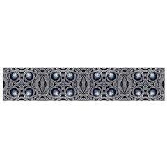 Modern Arabesque In Gray And Blue Flano Scarf (small) by dflcprintsclothing