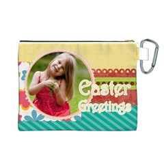 Easter By Easter   Canvas Cosmetic Bag (large)   Rrogps0ruksd   Www Artscow Com Back
