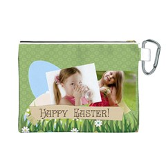 Easter By Easter   Canvas Cosmetic Bag (large)   Uoizwmtci0dw   Www Artscow Com Back