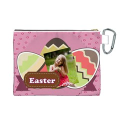 Easter By Easter   Canvas Cosmetic Bag (large)   Hez53jev259i   Www Artscow Com Back