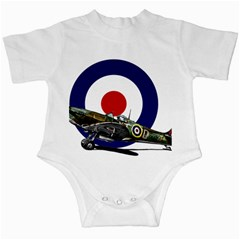 Spitfire And Roundel Infant Bodysuit by TheManCave