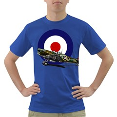 Spitfire And Roundel Men s T-shirt (Colored) by TheManCave