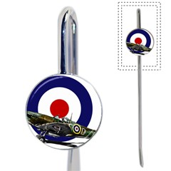 Spitfire And Roundel Bookmark by TheManCave