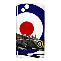 Spitfire And Roundel Sony Xperia Arc Hardshell Case  by TheManCave