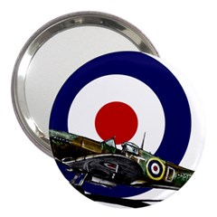 Spitfire And Roundel 3  Handbag Mirror by TheManCave