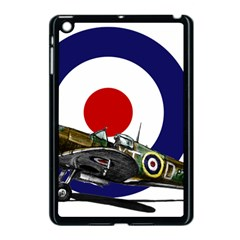 Spitfire And Roundel Apple Ipad Mini Case (black) by TheManCave