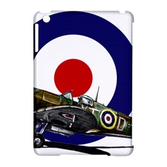 Spitfire And Roundel Apple iPad Mini Hardshell Case (Compatible with Smart Cover) by TheManCave