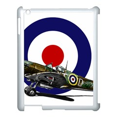 Spitfire And Roundel Apple Ipad 3/4 Case (white) by TheManCave
