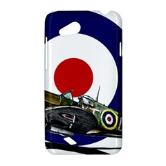 Spitfire And Roundel HTC Desire VC (T328D) Hardshell Case by TheManCave