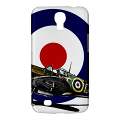 Spitfire And Roundel Samsung Galaxy Mega 6.3  I9200 Hardshell Case by TheManCave