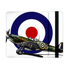 Spitfire And Roundel Samsung Galaxy Tab Pro 8.4  Flip Case by TheManCave