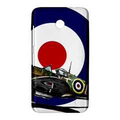 Spitfire And Roundel Nokia Lumia 630 Hardshell Case by TheManCave