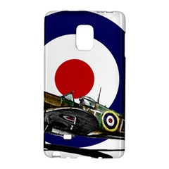 Spitfire And Roundel Samsung Galaxy Note Edge Hardshell Case by TheManCave