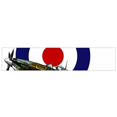 Spitfire And Roundel Flano Scarf (Small) by TheManCave