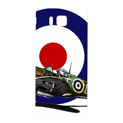 Spitfire And Roundel Samsung Galaxy Alpha Hardshell Back Case by TheManCave