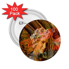Autumn 2 25  Button (100 Pack) by icarusismartdesigns