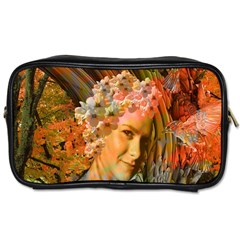 Autumn Travel Toiletry Bag (one Side) by icarusismartdesigns