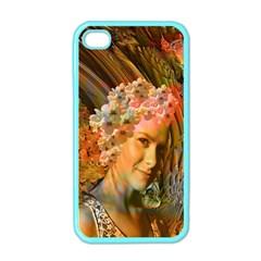 Autumn Apple Iphone 4 Case (color) by icarusismartdesigns