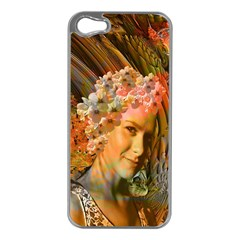 Autumn Apple Iphone 5 Case (silver) by icarusismartdesigns