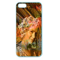 Autumn Apple Seamless Iphone 5 Case (color) by icarusismartdesigns