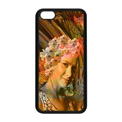 Autumn Apple Iphone 5c Seamless Case (black) by icarusismartdesigns