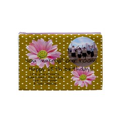 Chana #2 By Chavikfl Gmail Com   Cosmetic Bag (medium)   33ccbwtpr49d   Www Artscow Com Front