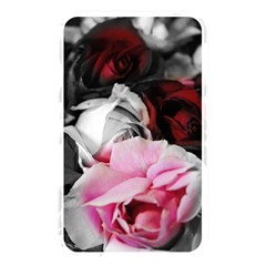 Black and White Roses Memory Card Reader (Rectangular) by bloomingvinedesign