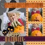 helloween - ScrapBook Page 12  x 12
