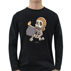Clash Of Clans Wall Breaker Men s Long Sleeve T-shirt (Dark Colored) by 10tacles