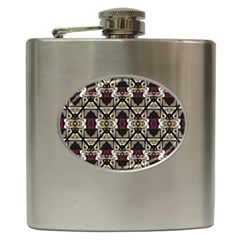 Abstract Geometric Modern Seamless Pattern Hip Flask by dflcprints