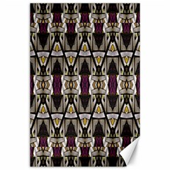 Abstract Geometric Modern Seamless Pattern Canvas 24  X 36  (unframed) by dflcprints