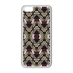 Abstract Geometric Modern Seamless Pattern Apple Iphone 5c Seamless Case (white) by dflcprints