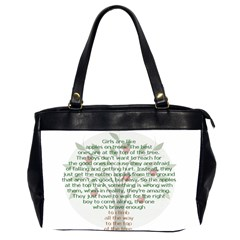 Appletree Oversize Office Handbag (two Sides) by TheWowFactor