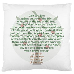 Appletree Large Cushion Case (two Sided)  by TheWowFactor