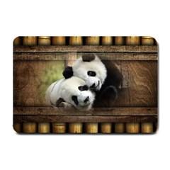 Panda Love Small Door Mat