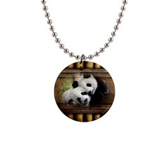 Panda Love Button Necklace by TheWowFactor