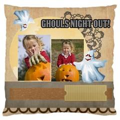 Halloween By Helloween   Large Flano Cushion Case (two Sides)   1pnripcj7fsc   Www Artscow Com Back