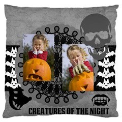 Halloween By Helloween   Large Flano Cushion Case (two Sides)   Qqokvib6h6ly   Www Artscow Com Back