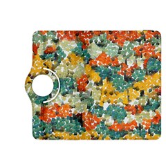 Paint Strokes In Retro Colors Kindle Fire Hdx 8 9  Flip 360 Case by LalyLauraFLM