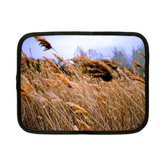 Blowing Prairie Grass Netbook Sleeve (small) by bloomingvinedesign