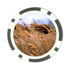 Blowing Prairie Grass Poker Chip (10 Pack) by bloomingvinedesign