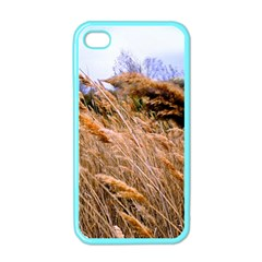 Blowing Prairie Grass Apple Iphone 4 Case (color) by bloomingvinedesign