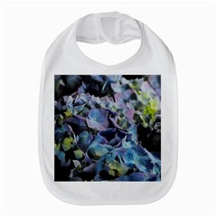 Blue And Purple Hydrangea Group Bib by bloomingvinedesign